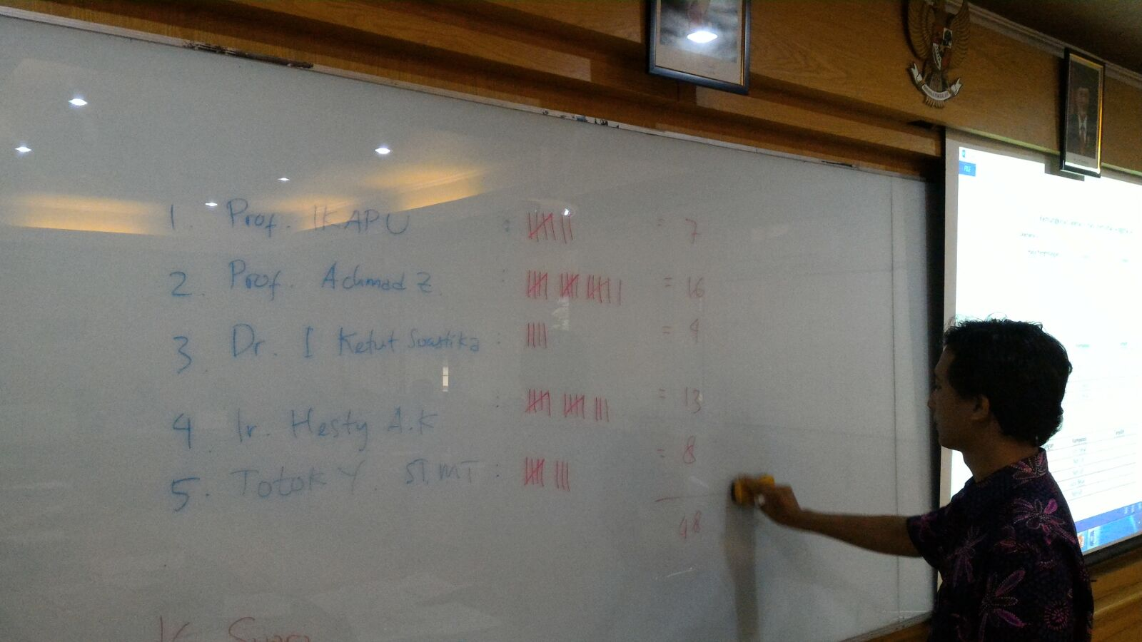 Pemilihan Anggota Senat Akademik JTP