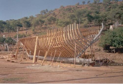 konstruksi kapal, konstruksi kapal kayu, konstruksi melintang, kapal kayu