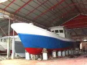 kapal fiberglass, kapal FRP, fiber, kapal,