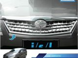 Kijang Innova 2010 2012 Front Grille Sporty Chrome