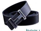Beau Design H Buckle Ikat Pinggang Sabuk Pria Quality Leather Men Belt